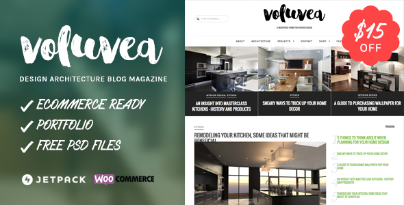 Voluvea - Home Design Blog Magazine - Blog / Magazine WordPress