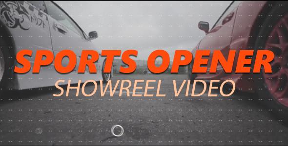 Sports Opener - Showreel Video