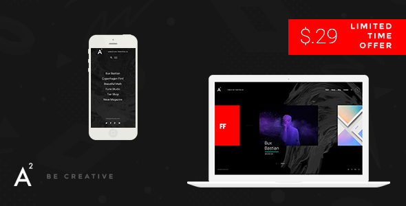 A2 – Creative WordPress Theme