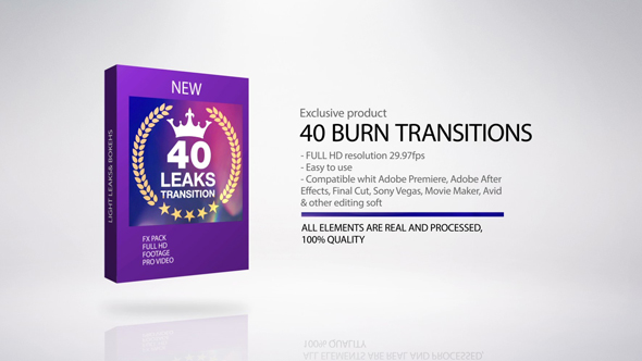 Transition Burn By Pizzaeffect Videohive