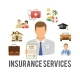 Insurance Services Concept - GraphicRiver Item for Sale