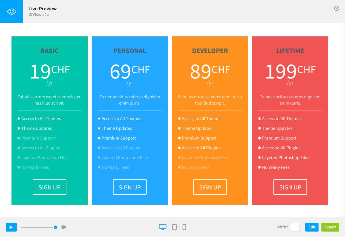 Yet Skin - Add-on for Go Pricing by Granth   CodeCanyon