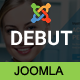 Debut - The Multi-Purpose Responsive Joomla Theme Nulled