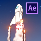 Rocket Logo Reveal - VideoHive Item for Sale