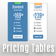 Classic Solid Modern - Responsive Pricing Tables - CodeCanyon Item for Sale