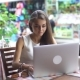 Young Businesswoman Working With Laptop - VideoHive Item for Sale