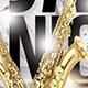 Jazz Night Flyer - GraphicRiver Item for Sale