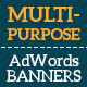 Fashion Web Adwords Banners - GraphicRiver Item for Sale
