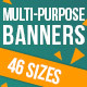 Weekend Sale AdWords Banners - GraphicRiver Item for Sale