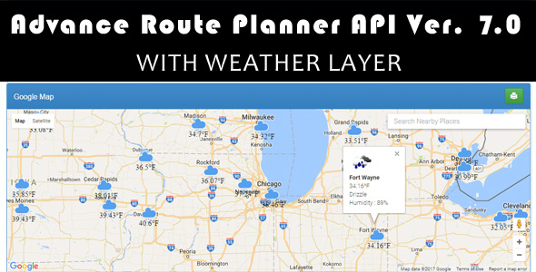 Advance Route Planner API Ver By Zincksoft CodeCanyon - Google trip planner map
