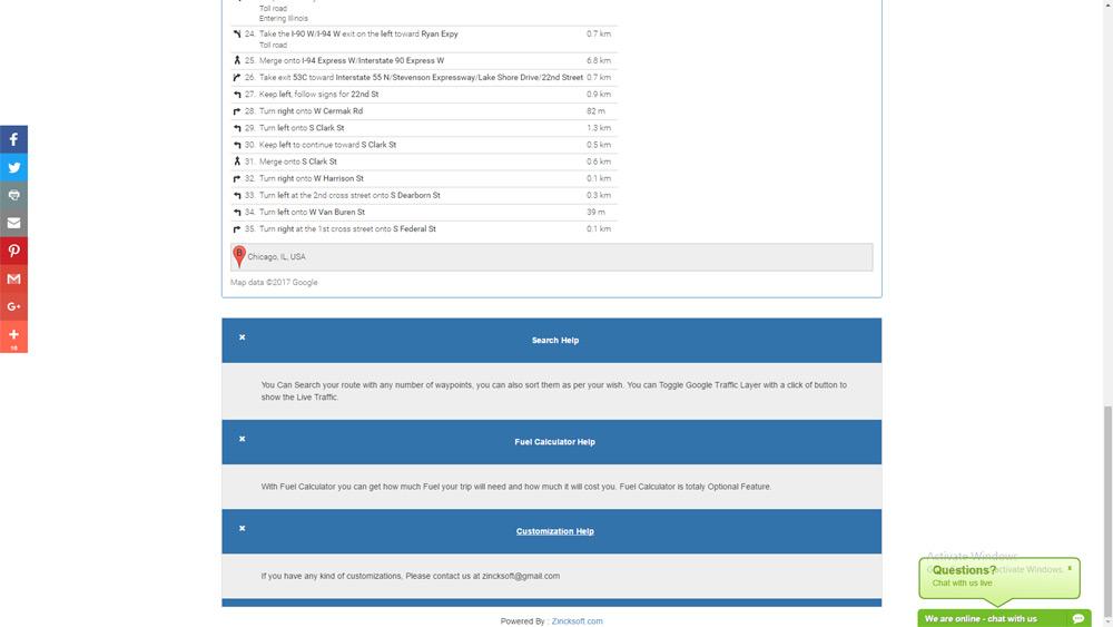 Advance Route Planner API Ver 7 0