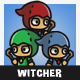 Tiny Style Witcher - GraphicRiver Item for Sale