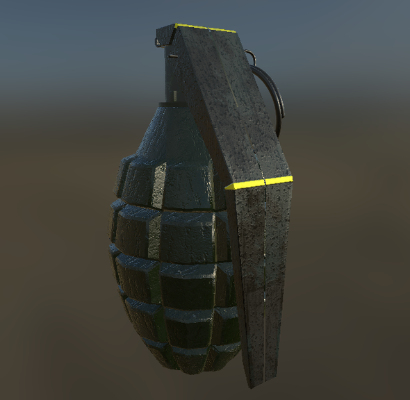 Grenade - 3DOcean Item for Sale