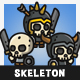 Tiny Style Skeleton - GraphicRiver Item for Sale