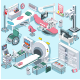 Medical Equipment Isometric - GraphicRiver Item for Sale