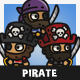 Tiny Style Pirate - GraphicRiver Item for Sale