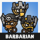 Tiny Style Barbarian - GraphicRiver Item for Sale