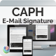 Caph - E-Mail Responsive Signature - GraphicRiver Item for Sale