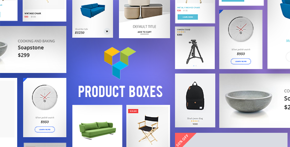 Product Boxes for Visual Composer - CodeCanyon Item for Sale