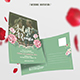 Wedding Invitation Postcard - GraphicRiver Item for Sale