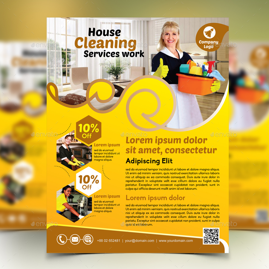 cleaning company ads