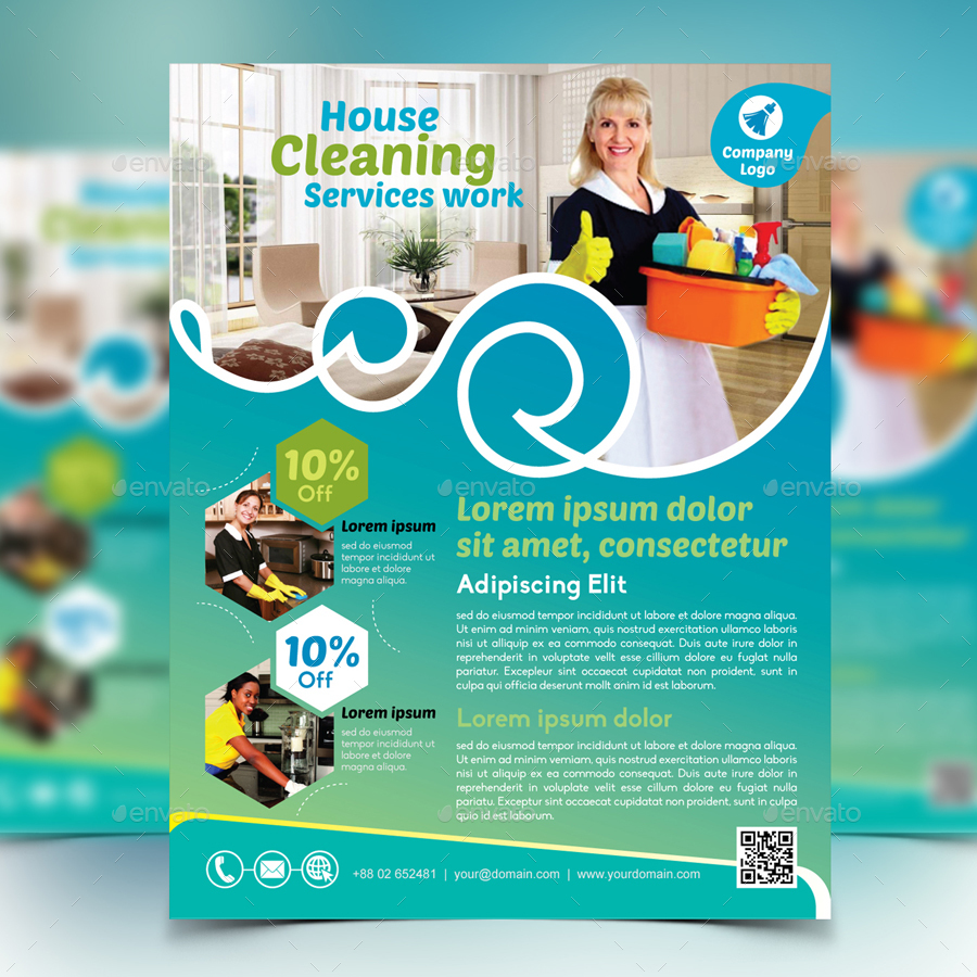 cleaning services flyers  cleaning services flyer - Black.dgfitness.co