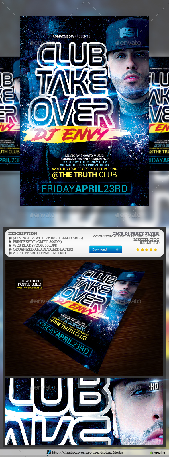 Club DJ Party - Clubs & Parties Events