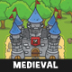 Top-Down Medieval Forest Game Tileset Nulled
