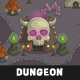 Top-Down Dungeon Tileset Nulled