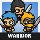 Tiny Style Warrior - GraphicRiver Item for Sale