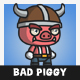 Bad Piggy - GraphicRiver Item for Sale