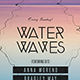 Water Waves Flyer - GraphicRiver Item for Sale