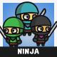 Tiny Style Ninja - GraphicRiver Item for Sale