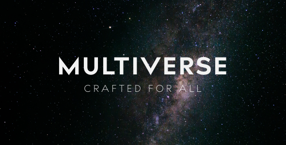 Multiverse – High Performance Creative WP Theme