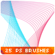25 Abstract Line Waves Photoshop Brushes - GraphicRiver Item for Sale