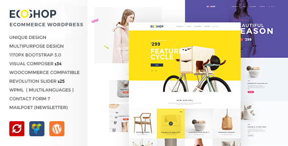 ECOSHOP – Multipurpose eCommerce WordPress Theme