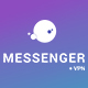 Customizable Messenger with secure VPN connection feature - CodeCanyon Item for Sale