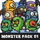 Cartoon Enemy Pack 01 Nulled