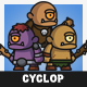 Tiny Style Cyclop - GraphicRiver Item for Sale