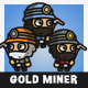 Tiny Style Gold Miner - GraphicRiver Item for Sale