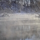 Steam Over the Water in Winter - VideoHive Item for Sale