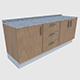 Cabinet 5 - Game Ready - 3DOcean Item for Sale