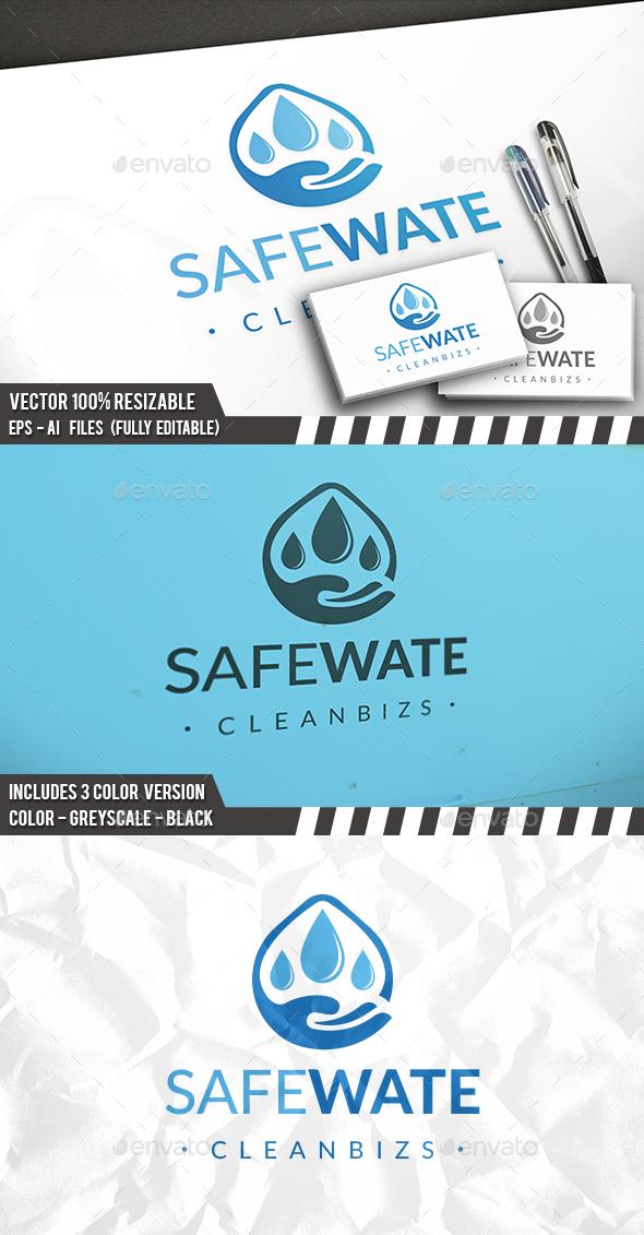 Safe Water Logo - Nature Logo Templates