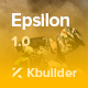 Epsilon - Multipurpose Email Template + Builder 2.0 - ThemeForest Item for Sale
