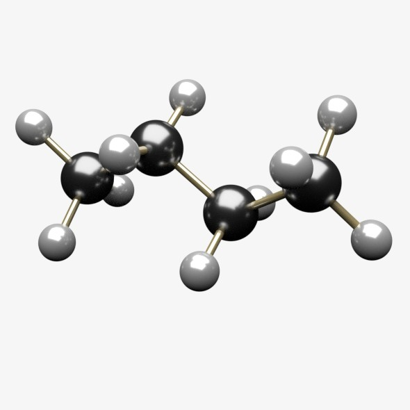 Butane Molecule - 3DOcean Item for Sale