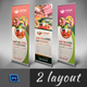 Roll-Up Banner 2 in 1 VL_02 - GraphicRiver Item for Sale