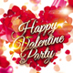 Happy Valentine Party Flyer - GraphicRiver Item for Sale