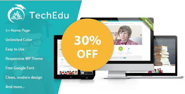 TechEdu – Education WordPress Theme - Education WordPress
