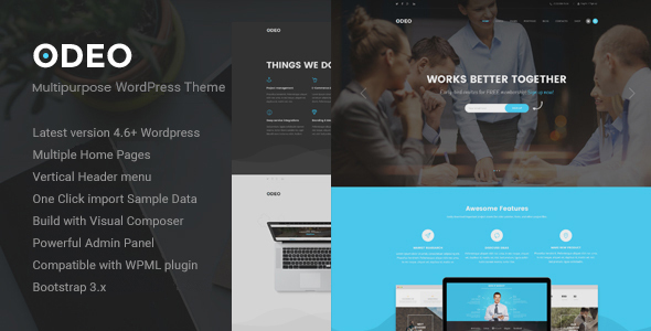 ODEO – Multipurpose & Business WordPress Theme
