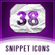 38 Grungy Paper Snippets Web Iconset - GraphicRiver Item for Sale